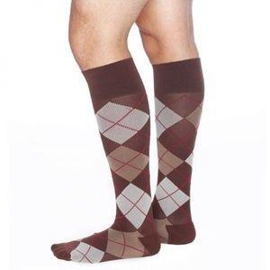 Men's Elevate Compression socks in Argyle